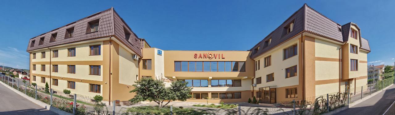 Clinica Sanovil Bistrita maternitate spital privat ginecologie chirurgie pediatrie ortopedie laborator histerectomie laparoscopica